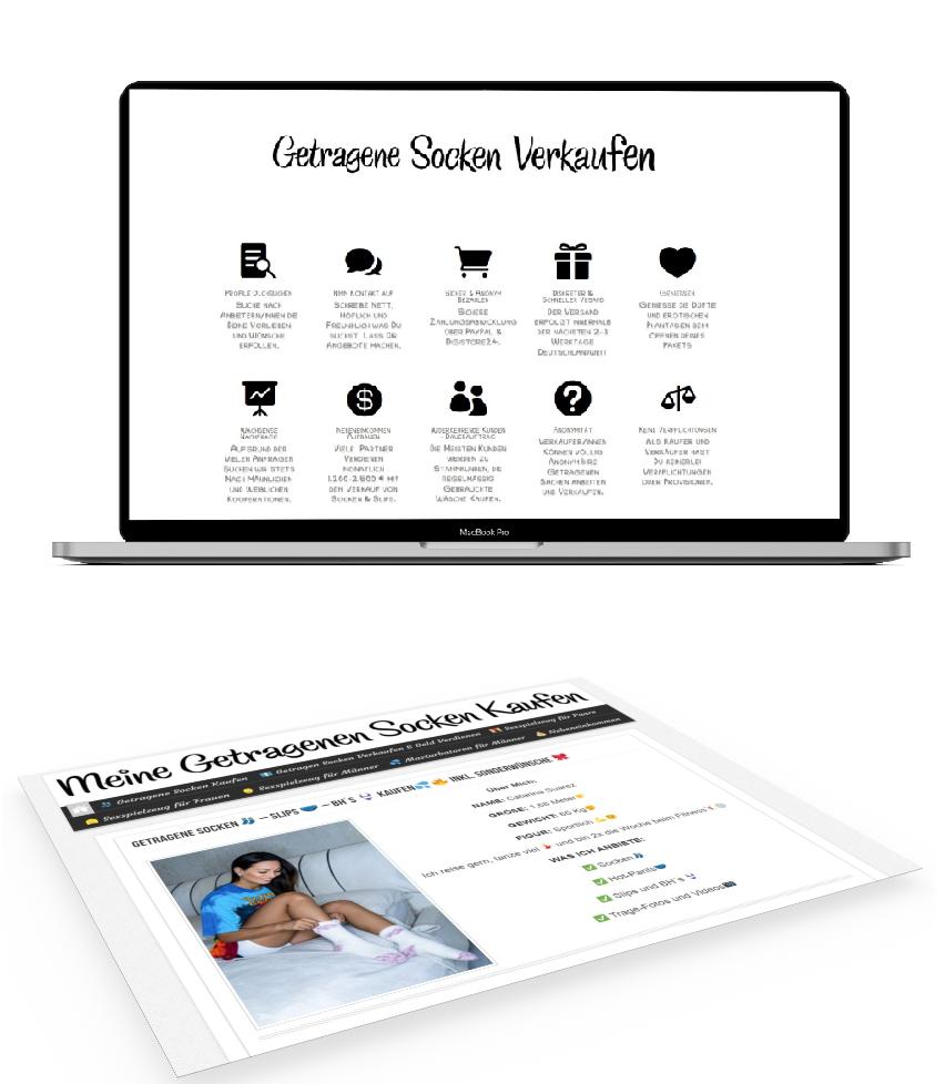 💻 Fertige Internetseite für Dein Socken & Slip - Business